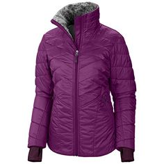 Columbia Sportswear Women's Kaleidaslope II Jacket, Plum, Small only @ http://www.zoeslifestylefashion.com/clothing