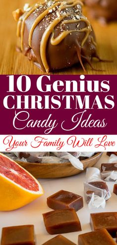 10 Christmas Candy Ideas Your Family Will Love Christmas Candy Ideas: 10 Christmas Candy Ideas Your Family Will Love. The Best Christmas Candy Ideas for the Holidays. Delicious Easy Christmas Candy Ideas for Christmas Parties Holiday Candy, Christmas Candy, Holiday Treats, Holiday Recipes, Diy Christmas, Christmas Recipes, Christmas Snacks, Christmas Baking, Christmas Parties