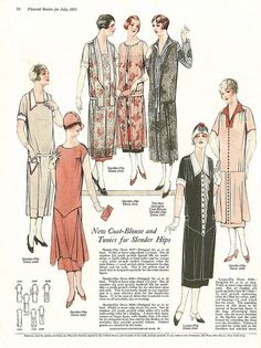 The Pictorial Review, July, 1925, Summer Frocks and Fashion 6