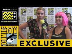 Leah Pipes (The Originals) @ 2015 San Diego Comic-Con | AfterBuzz TV