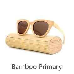 d6479c929a95 Handmade Bamboo Sunglasses Beach Sunglasses