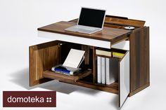 Eleganckie i funkcjonalne biurko- propozycja od Asymetria Studio.