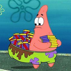 "Patrick Star on Instagram: ""fancy living. period."""