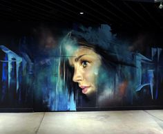 Foto: • ARTIST . MATT ADNATE • ◦ Untitled ◦ location: Melbourne, Australia. #adnate http://www.widewalls.ch/artist/adnate/