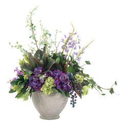 Hydrangeas and Lilacs