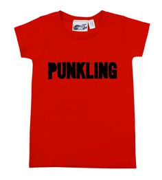 Punkling Red T-shirt