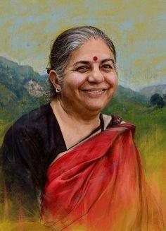 Vandana Shiva, Indian environmental activist and author