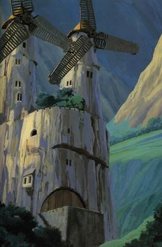 nausicaa_of_the_valley_of_the_wind_concept_art_background_17.jpg 505×768 像素