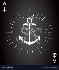 Vintage Label with an Anchor and Letter made of Ship Rope. Apparel t-shirt or Poster Design. Logotype Monogram with Playing Cards Style. Vector illustration. Download a Free Preview or High Quality Adobe Illustrator Ai, EPS, PDF and High Resolution JPEG versions.