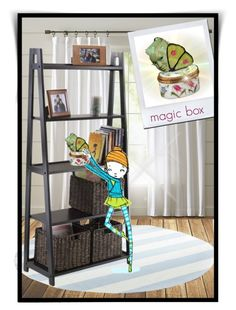 """""""Don't touch the magic box!!!"""" by runners ❤ liked on Polyvore featuring art and 15"""