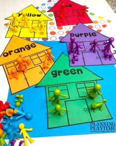 All About Me Activities - Planning Playtime