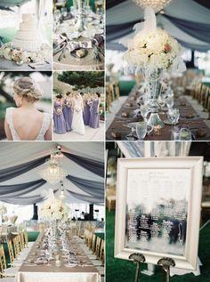 Inspirational Wedding Ideas #224: Elegant Great Gasby Theme - http://www.diyweddingsmag.com/inspirational-wedding-ideas-224-elegant-great-gasby-theme/