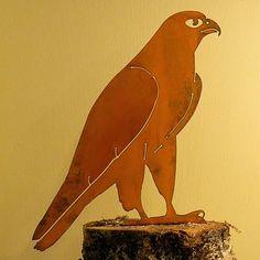 Elegant Bird Silhouette Peregrine Falcon