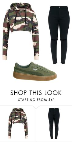"""Untitled #984"" by alanawedge59 on Polyvore featuring Puma"
