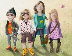 """Check out new work on my @Behance portfolio: """"// KINDERBANDE //"""" http://be.net/gallery/35796327/-KINDERBANDE-"""