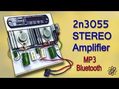 Here i am showing, how to make an extreme bass 100 watts Stereo Amplifier homemade using dual is a silicon NPN power transistor. Electronic Circuit Projects, Electrical Projects, Electronics Projects, Car Stereo Speakers, Diy Speakers, Spy Video Camera, Electronic Schematics, Stereo Amplifier, Circuit Diagram