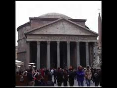 Tour and discussion of this amazing building. The Pantheon, Rome, c. 125  (Preview!)