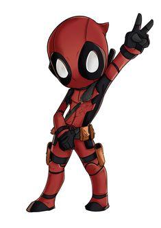 #Chibi #Deadpool #Fan #Art. (Deadpool Chibi) By:Wooserr. (THE * 5 * STÅR * ÅWARD * OF: * AW YEAH, IT'S MAJOR ÅWESOMENESS!!!™)[THANK U 4 PINNING!!!<·><]<©>ÅÅÅ+(OB4E)