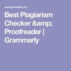 Best Plagiarism Chec