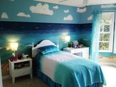 Bedroom Decorating Ideas Ocean Theme images of teenage beach bedrooms for girls |  beach style