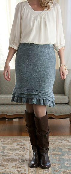 Ravelry: Barton Springs Skirt pattern by Cecily Glowik MacDonald drool