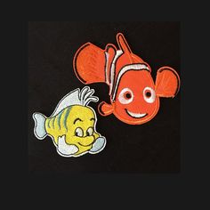 New to craftapplique on Etsy: Clownfish Nemo embroidered patch iron on patch sew on patch (1.50 USD)