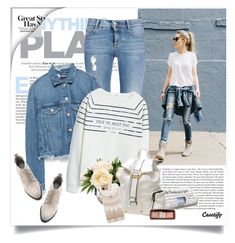 """""""Street style"""" by yexyka ❤ liked on Polyvore featuring STELLA McCARTNEY, Zara, MANGO, Dasein, Alexander Wang, Casetify and Hourglass Cosmetics"""