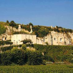 Maison troglodyte en Anjou, tout un art de vivre ! Troglodytes, Saumur, Earthship, France Travel, Study Abroad, Architecture, Belle Photo, Habitats, Places To See