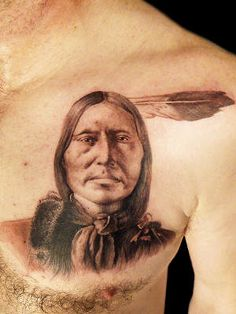 Indian Tattoos Designs, Ideas and Meaning Wiccan Tattoos, Celtic Tattoos, Red Indian, Native Indian, Native American History, Native American Indians, Indian Tattoo Design, Tattoo Indian, Native Tattoos