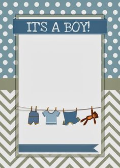 baby boy shower invite   Abby and Kevin   Baby boy shower ...
