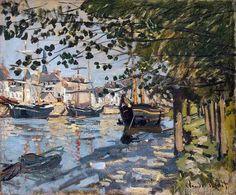 Claude Monet - Seine at Rouen, 1872