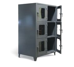 Strong Hold See-Thru Door Industrial Metal Storage Cabinet, metal ...