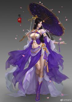 Dark Fantasy Art, Fantasy Art Women, Beautiful Fantasy Art, Fantasy Girl, Fantasy Artwork, Anime Angel Girl, Anime Art Girl, Fantasy Female Warrior, Female Art