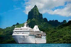 Paul Gauguin Cruises offers off standard cruise fares plus included airfare from Los Angeles on all Tahiti, French Polynesia and South Pacific voyages. Paul Gauguin, Bora Bora, Cruise Travel, Cruise Vacation, Honeymoon Cruises, Travel 2017, Vacation Places, Vacation Ideas, Vacations