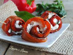 Involtini di peperone ricetta semplice