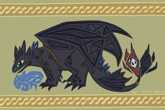 Here's How Toothless from How to Train Your Dragon Would Be Immortalized in Tapestry