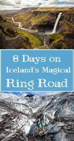 Iceland Ring Road Pinterest