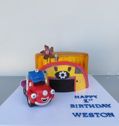 Truck town cake Trucks, Cakes, Toys, Activity Toys, Truck, Mudpie, Cake, Pastries, Games