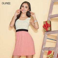 Romántica. #moda femenina DUPREE New Trends, Cute Dresses, Feminine Fashion