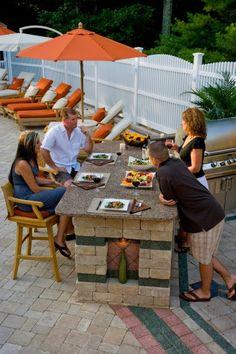 Grillkamin Outdoor Küche Selber Bauen Essplatz Pool Stein | Ideen ... Grillkamin Bauen Diese Tipps Werden Sie Bei Der Planung Unterstutzen