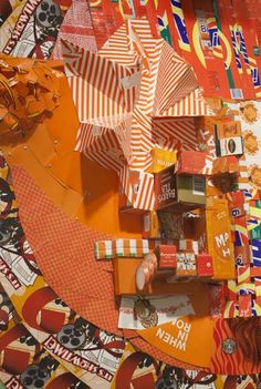 Lisa Hoke - we saw her work at the NC Museum of Art 0 to 60 exhibit - recycled materials