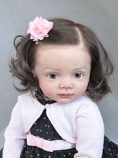 Reborn Baby Girl Doll Fridolin by Karola Wegerich, Sold Out, Reborn Toddler Girl, Baby Girl Dolls, Child Doll, Reborn Baby Dolls, Baby Boy, Tiny Dolls, Ooak Dolls, Art Dolls, Lifelike Dolls