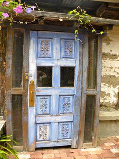 door love in harmony, ca ... taken with iphone