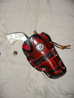 MADE TO ORDER leather western holsters. $75.00, via Etsy.