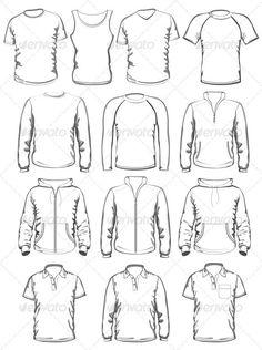 types of jacket draw - Pesquisa Google