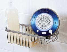 Brookstone Waterproof Floating Bluetooth Speaker