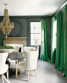 59 best Green Drapes & Decor images on Pinterest | Home decor ...