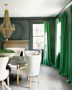 Color Trend | Emerald Green (Color of the Year 2013) - Drapery Street
