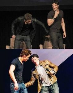 They really do love each other like brothers! ;)