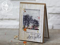 shaker card, stamping card, Crafty Indyviduals trees